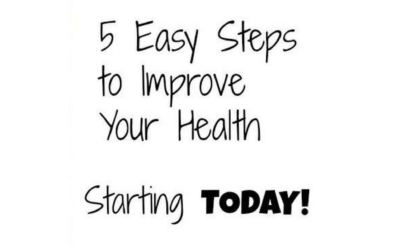 5 Steps Closer to Health!